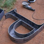 Iron Typography